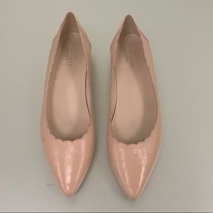 Coke Haan Pink Leather Flats